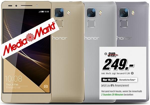 Honor 7 Premium Smartphone bei Media Markt zum Knaller-Preis!