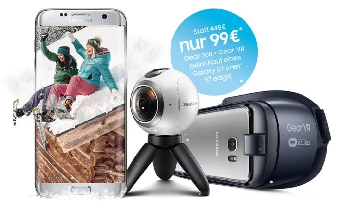 Samsung Aktion: Rundumpaket für 360° Spaß