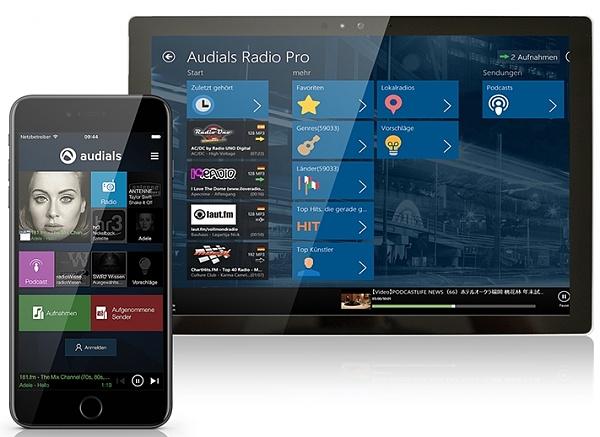 Kostenlose Radio-App Audials im Test