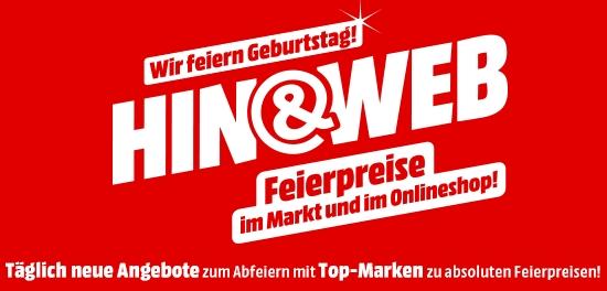 Media Markt Hin&Web Aktion mit vielen Smartphone-Schnäppchen?