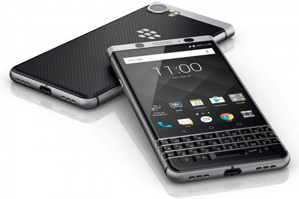 BlackBerry KEYone: Neues Android-Smartphone mit QWERTZ-Tastatur