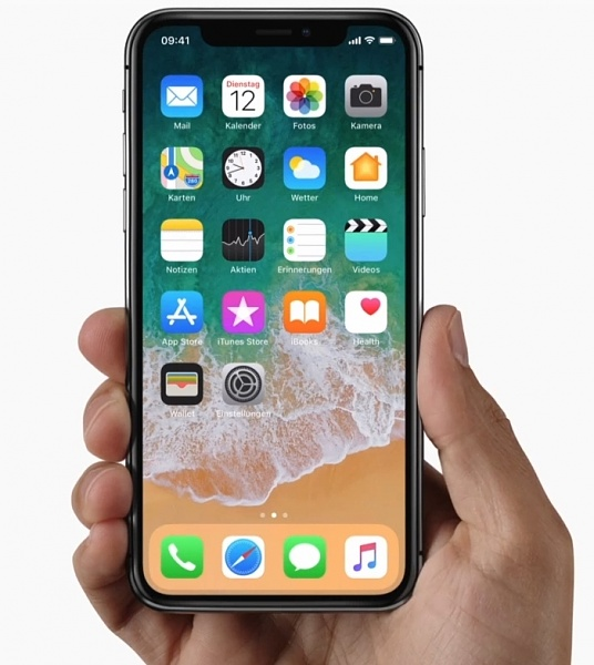 Apple: Neues iPhone X mit randlosem Display kostet satte 1149.- Euro