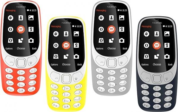 Neues Nokia 3310 jetzt auch mit 3G-Funktion erhältlich