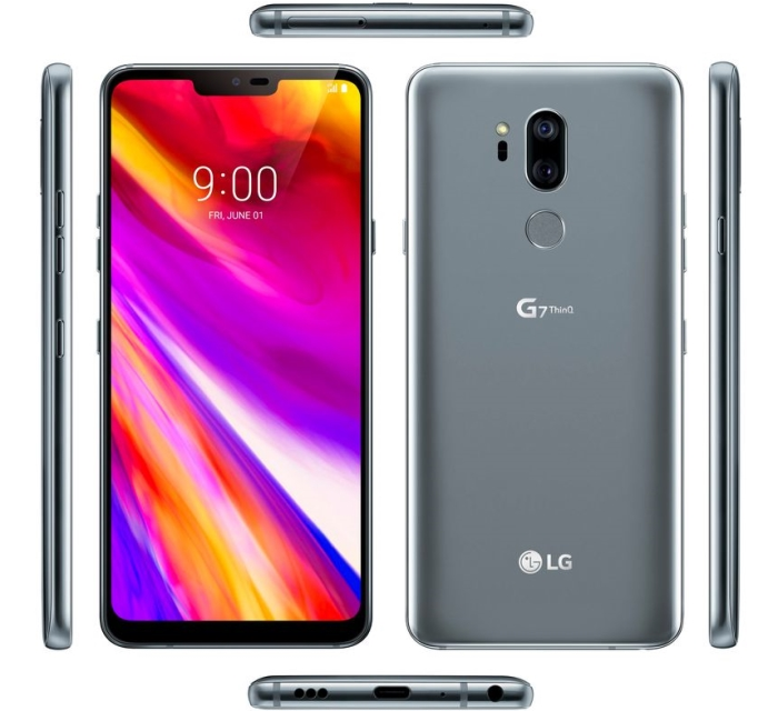 LG G7 ThinQ: Erste Bilder + technische Daten geleakt