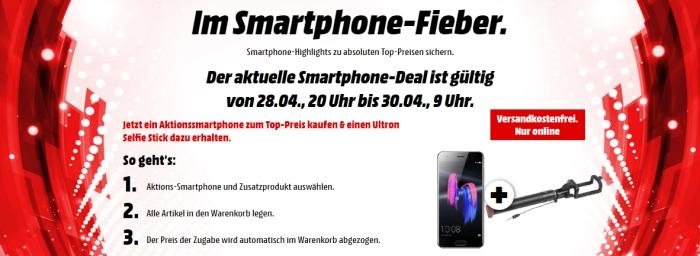 Media Markt: Smartphone Fieber Aktion nur noch bis morgen Vormittag!