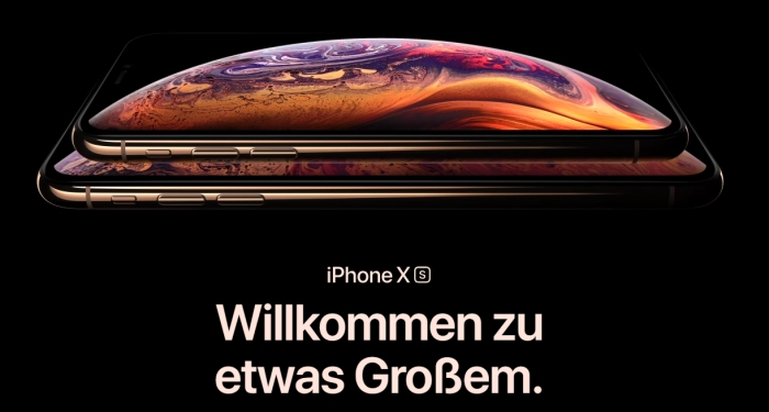 iphone xs technische daten