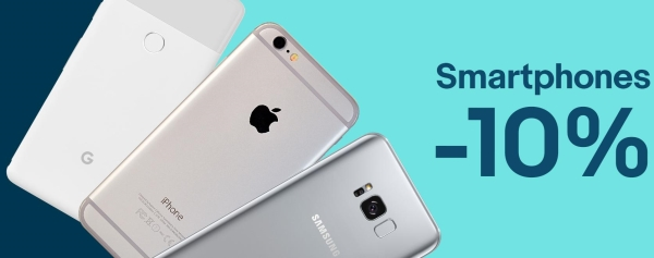 eBay Smartphones: 10% Rabatt Gutschein-Code nur bis heute Mitternacht gültig!