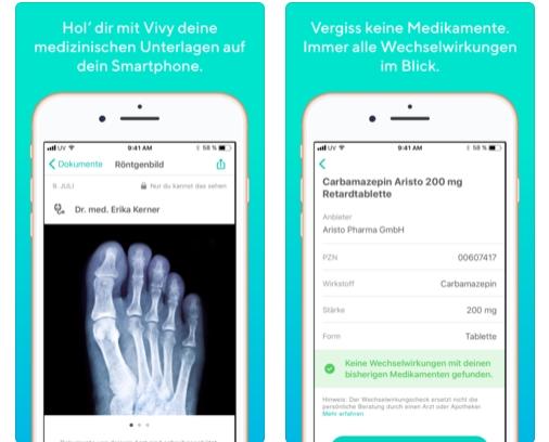 Vivy App: Elektronische Gesundheitskarte bei 16 Krankenkassen für das Smartphone verfügbar!